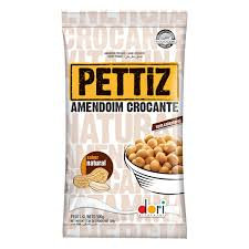Amendoim Pettiz Natural Crocante 500g Dori