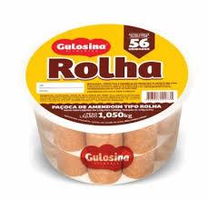 Paçoca Rolha Gulosita Gulosina c/56 un 1.050kg