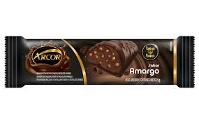 Tablete Arcor Chocolate Amargo Recheado 12x40g