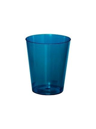Copo Brigadeiro 25ml Azul Plazapel com 10 un