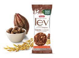 Biscoito Lev Cookie Integral Cacau e Cereais Display 8x40g Marilan