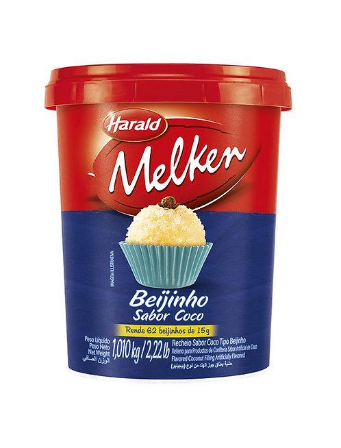 Beijinho Coco Melken 1,01Kg - Harald