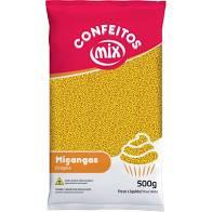 Confeito Miçanga Amarelo  500g Mix