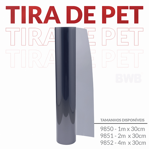 Tira de Pet BWB 30cmx1mt