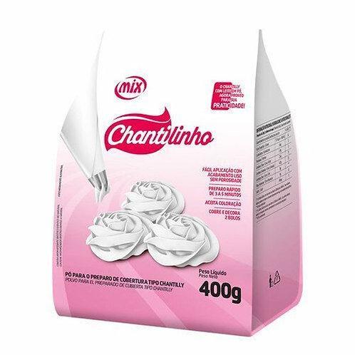 Chantilinho- Pó p/ Preparo de Cobertura Tipo Chantily 400g Mix