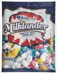 Bala Milklander Sortida 600g Soberana