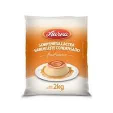 Sobremesa Láctea sabor Leite Condensado Bag com 2kg Áurea