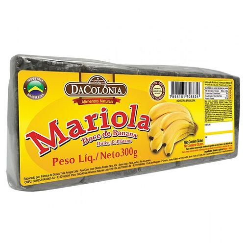 Mariola Doce de Banana Da Colônia 300g
