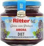 Geléia Amora Diet 260g Ritter
