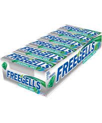 Drops Freegells Original Mint Display com 12un Riclan