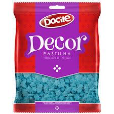 Pastilha Decor Estrela Azul 250g Docile