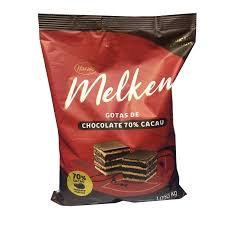Chocolate em Gotas 70% Melken 1,050Kg Harald