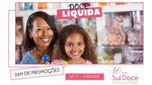 Doce Liquida acontece neste sábado (14/11)