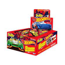 Chicle Buzzy Hot Wheels Tutti Frutti 400g Riclan