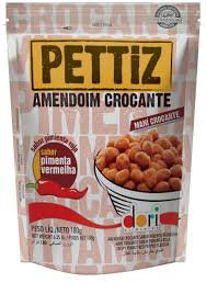 Amendoim Pettiz Pimenta Vermelha Crocante Pouch Dori 180g