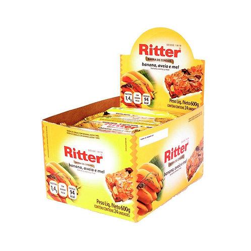 Cereal Ritter Banana, Aveia e Mel com 24un