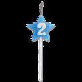 Vela Star Citrus  Azul Nº 2 Festcolor