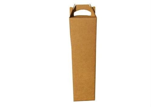 Caixa Papel Kraft  160x78x340 Embalagem para Vinho  537 Celupack