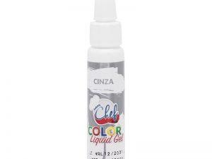 Corante Color Liquido Gel Cinza 25g Iceberg