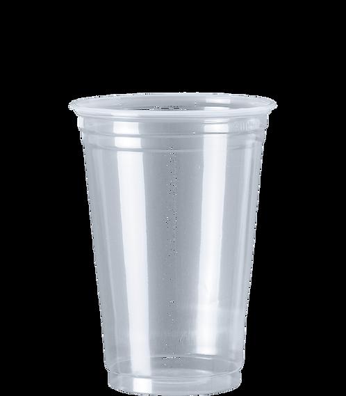 Copo Plástico PP CPM-330 Transp. Cristalcopo - 50 unid.