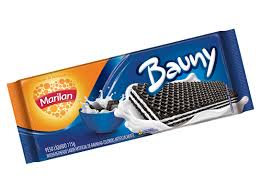 Biscoito Wafer Bauny 115g Marilan