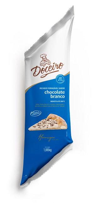 Recheio Forneável Doceiro Chocolate Branco 1,005kg Haenssgen