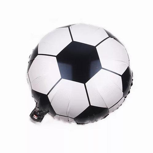 Balão Metalizado Bola De Futebol - 45cm