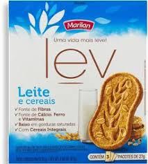 Biscoito Lev Leite e Cereais Integral 81g Marilan