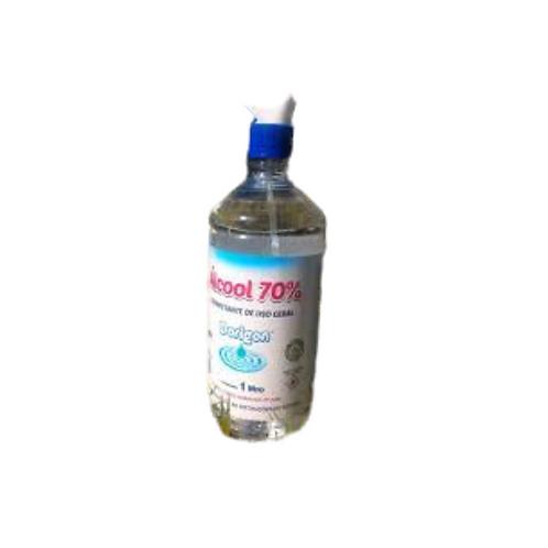 Alcool Líquido 70% 1l c/Borrificador Dorigon