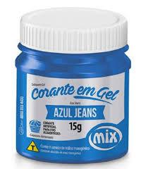 Corante em Gel Azul Jeans 15g Mix