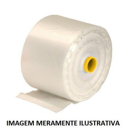 Bobina Picotada Fundo Estrela 34x50cm c/  500un Plasfilm