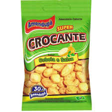 Amendoim Crocante Cebola e Salsa 400g Amendupã