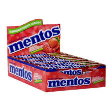 Mentos Frutas Vermelhas Display com 16un Perfetti