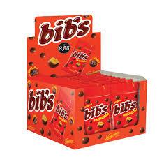 Bibs Amendoim Display com 18un de 40g cada Neugebauer