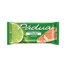Wafer Padua Limão 100g Parati