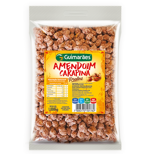 Amendoim Carapina Guimarães 1008g