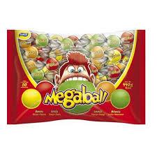 Chicle Megaball  Pacote 440g Sortido Sukest