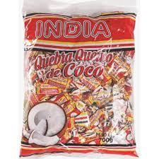 Balas Quebra Queixo de Coco  700g Índia