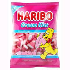 Bala Gelatina Cream Kiss 250g Haribo