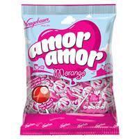 Pirulito PB Amor Amor Morango 480g Neugebauer