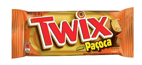 Chocolate Twix Paçoca com 18un de 39,7g
