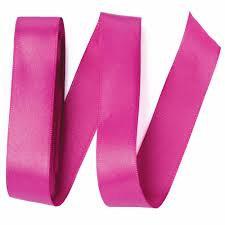 Fita de Cetim Liso Pink Maravilha 2,3 cm c/ 10 mt Cromus