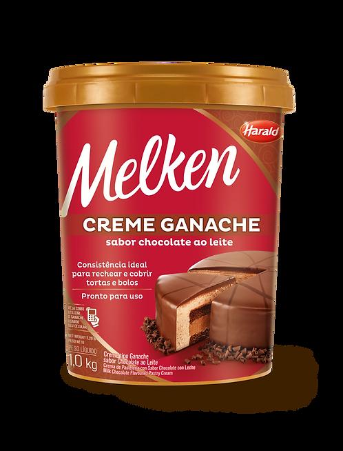 Creme Ganache sabor Chocolate Ao Leite Melken 1,000 kg
