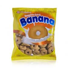 Biscoito Rosquinha sabor Banana Prodasa 400g