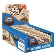 Tablete Arcor Chocolate com Cookies Cream Recheado Display com 12un de 37g