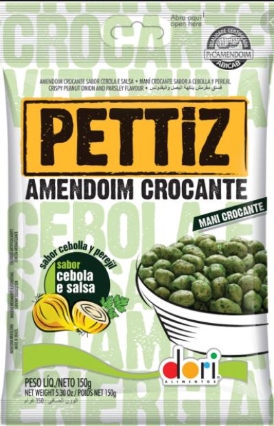Amendoim Pettiz Cebola/Salsa Crocante 150g - Dori