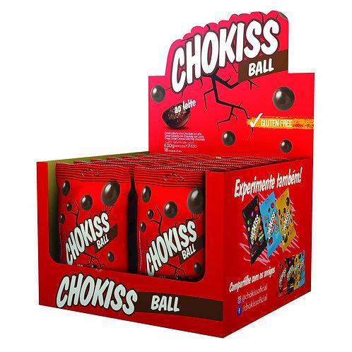 Chokiss Ball ao Leite Display 18X35g Jazam