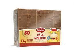 Pé de Moleque Gulosina c/50un 1,5kg