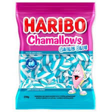 Marshmallow Chamallows Cables Blue 250g Haribo
