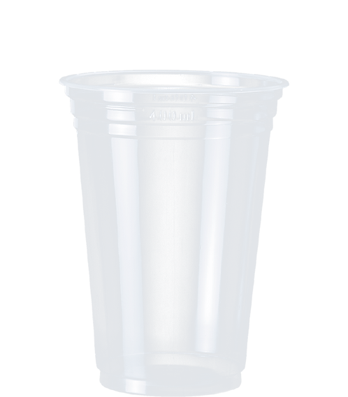 Copo Plástico PP CPM-440 CR Transp. Cristalcopo - 50 unidades